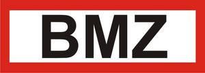 "FW-Hinweisschild ""BMZ"""