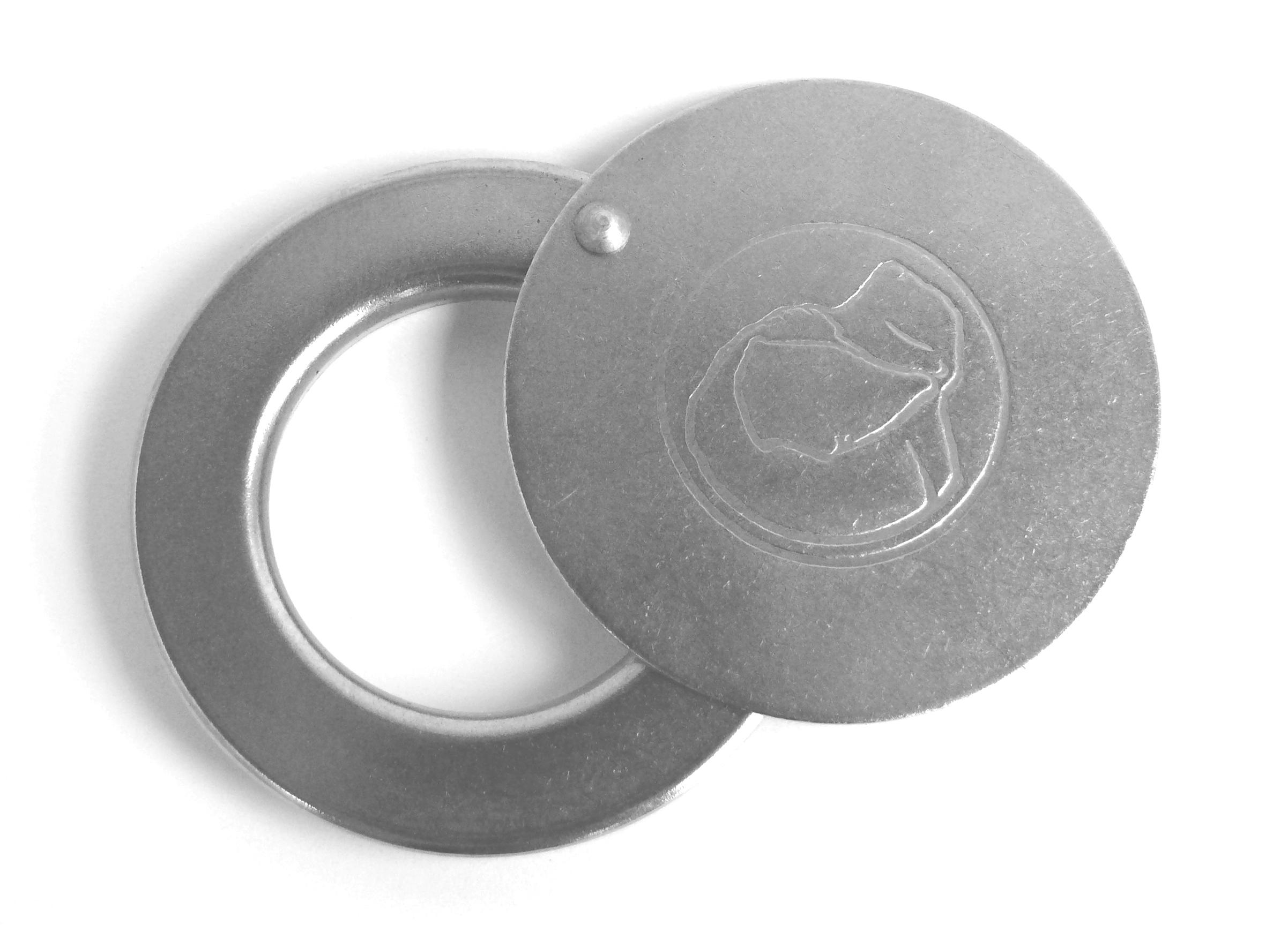 Produktbild Putzblende mit Staubschutzscheibe