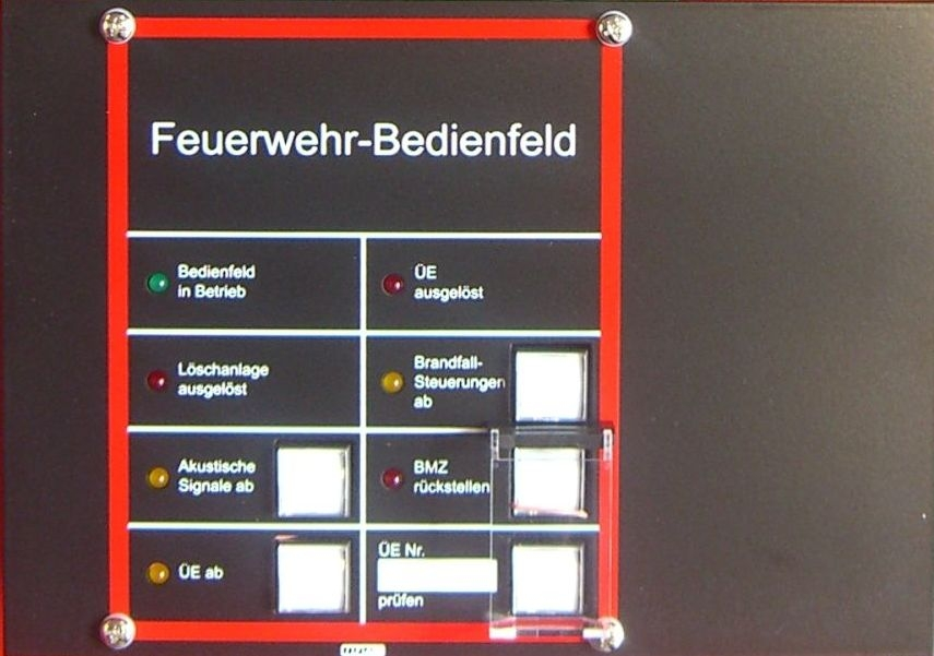 Produktbild FW-Bedienfeld (FBF) 3000