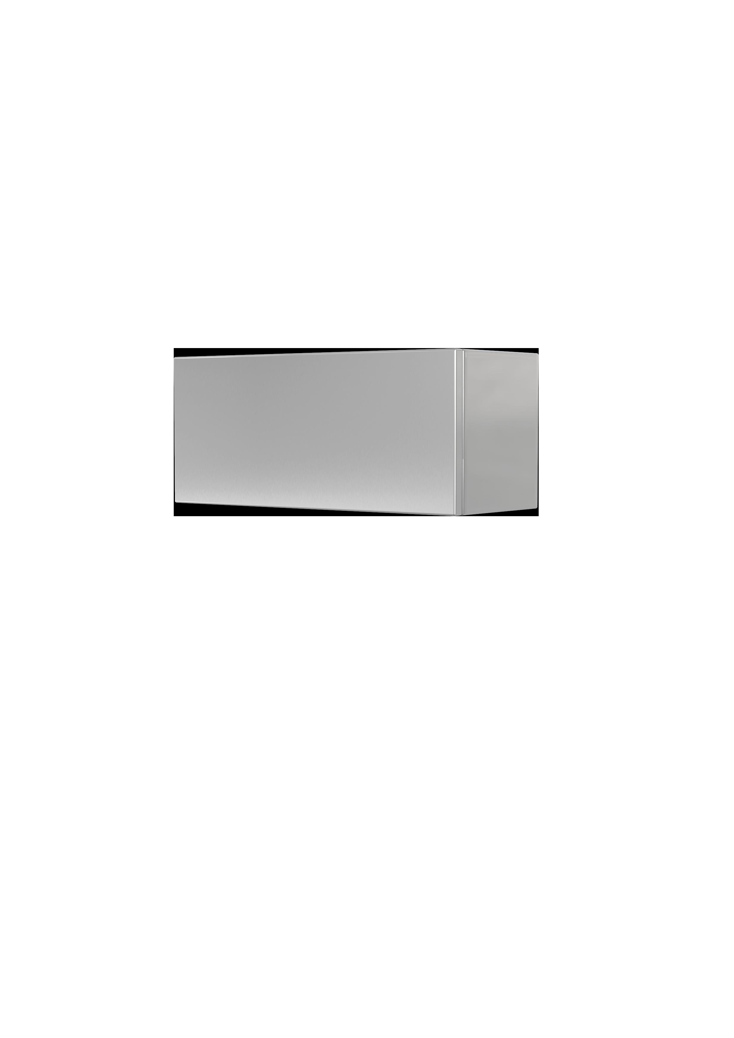 Produktbild Blindkasten für Ergänzungsgehäuse